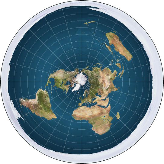 Maps the flat earth society a modern flat earth map gumiabroncs Gallery