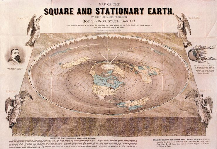 Maps  The Flat Earth Society